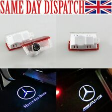 Mercedes Door Lights Projector CREE LED Courtesy Puddle Ghost LOGO For Benz AMG