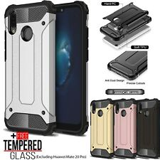 For Huawei P20 Pro Lite Mate 20 8X Hybrid Armor TPU Shockproof Bumper Case Cover