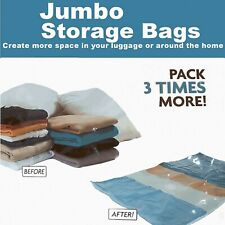 STRONG VACUUM STORAGE SPACE SAVING BAGS VAC BAG SPACE SAVER VACCUM VACUM BAG
