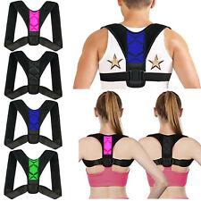 Adjustable Therapy Posture Corrector Clavicle Support Back Brace Shoulder Belt!