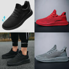 Fashion Unisex Shoes Pumps Trainers Lace Up Mesh Sports Running Casual Rz 39-44