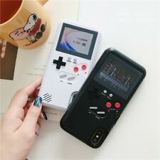 Soinmy Full color display GameBoy Cases for phone Tetris Gameboy Game PC Cover