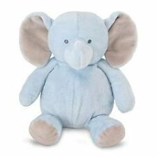 NWT Carters Blue Plush Elephant Rattle Stuffed Animal Baby Toy Lovey Style 61298