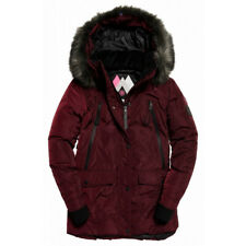 Veste Superdry Antarctic Explorer Down Parka Burgundy