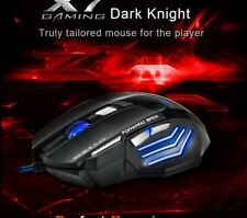 Mouse Wired Gaming Led Optical Usb 7 Mice Gamer 5500dpi Button Laptop 5500 Dpi