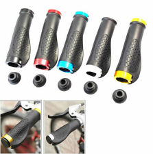 1 Pair Cycling Rubber Handle Bicycle Bike MTB Grips Anti-slip Mountain Handlebar
