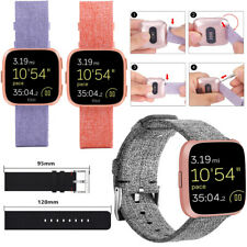 For Fitbit Versa Wrist Straps Wristbands Replacement Accessory Watch Band Canvas