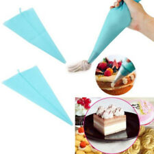 Silicone Reusable Icing Piping Cream Pastry Bag DIY Cake Decorating Tool QP