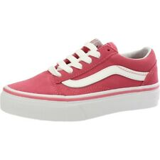 d74c6cb9f9a766 Vans UY Old Skool Desert Rose True White Suede Youth Trainers Shoes