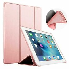 """Leather Flip Smart Cover Stand Back Case Magnetic For All Apple iPad 9.7"""" Inch"""