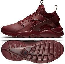 Nike Air Huarache Run Ultra SE 875841-600 Team Red/Black Leather Men's Shoes