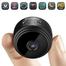 Mini Spy Camera WiFi Hidden Wireless HD 1080P with Motion Detection Night Vision