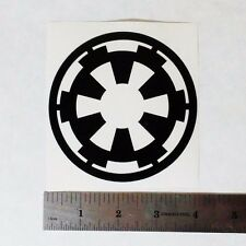 GALACTIC EMPIRE STAR WARS Vinyl DECAL STICKER BLK/WHT/RED Symbol Logo Window Car