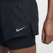 NIKE  Elevate 2 in 1 Running Shorts Women's Size S