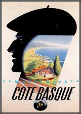1940 Palace at Versailles France Vintage Style Travel Poster 20x30