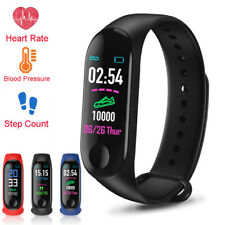 Blood Pressure Smart Watch Heart Rate Monitor Bracelet Wristband For iOS Android