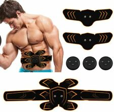 EMS Muscle Stimulator Six Pack Pad ABS 6 Pack Massager Toner Machine Trainer