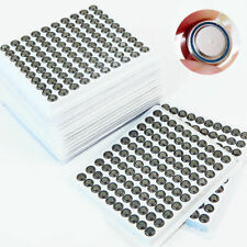Batterie 100PCS LR41 AG3 SR41 392 192 LR736 Button Cell pour calculatrice Montre