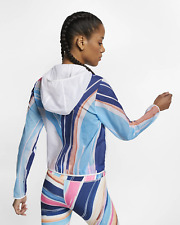 NIKE IMPOSSIBLY LIGHT WOMEN REPEL RUNNING CROPPED JACKET - WHITE AT3094-121 S