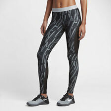 aa81d32347ded NIKE PRO HYPERCOOL WOMEN TRAINING GRAPHIC TIGHTS BLACK PLATINUM 830580-010  - XL