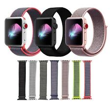 38 42 40 44mm Nylon Sport Loop iWatch Band Strap for Apple Watch Series 4 3 2 1