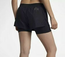 """Nike Run Division Elevate 2 in 1 Running 3"""" (8 cm) Shorts Women's Size S M"""