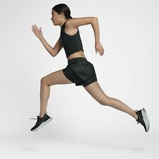 NIKE  Elevate 2 in 1 Running Shorts Women's Size S Black