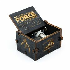 New Black Star Wars Music Box  Game of Thrones Castle In The Sky Hand Cranked