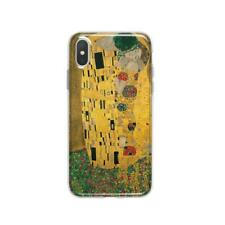 Gustav Klimt iPhone XR 7 8 Plus Cover The Kiss iPhone X Case Art iPhone XS Max