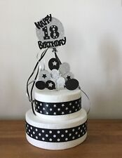 Cake Topper Decoration Football kit and footballs Birthday 1st 18th 21st 30