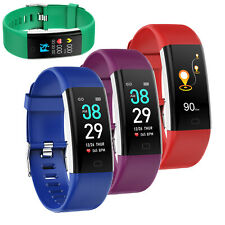 F07 Smart Bracelet Heart Rate Monitor Blood Pressure Waterproof Fitness Tracker