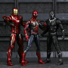 Avengers Infinity War Iron Spider Figure Spiderman Black Panther Iron Man Action