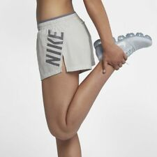 "NIKE ELEVATE GFX WOMEN RUNNING DRI FIT 3"" SHORTS - VAST GREY AH6088-092 - XL"