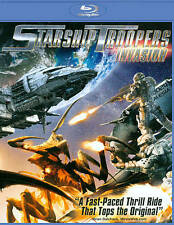 Starship Troopers Invasion Blu-ray Disc, 2012 SCI FI ACTION