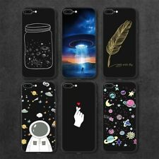 Astronaut Planet Moon Star Space Phone For Tpu Case Iphone X 8 7 6 6S Plus 5S