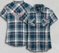 HARLEY-DAVIDSON - EAGLE PLAID SHIRT // WOMEN'S // PLAID