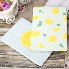 "Lemon Leather Stand Magnetic Smart Cover Case For Apple iPad 6th 5th 9.7"" mini 5"