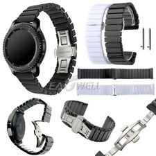 Quick Release 22mm Ceramics Stainless Steel Wrist Watch Band Strap Bracelet New