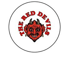 The Red Devils 25mm Badge Badges