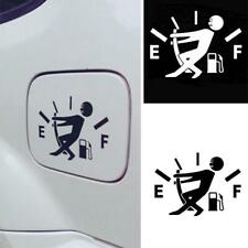 Funny Car Stickers High Gas Consumption Decal Fuel Gage Stickers Reflective