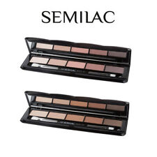 Semilac Matt Eye Shadows Palette Collection Warm Nude Rose 5 Shades Eye Make Up