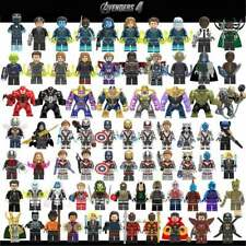 Legoed Marvel Avengers 4 endgame Captain America iron man Thanos Hulk Building B