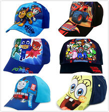 Kids Little Boys Girls Cartoon Character Baseball Cap Hat Toddler Toy Gift Youth
