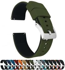 Barton Elite Silicone Watch Bands Quick Release Choose Color and Size 18,20,22mm