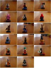 Lego Mini Figures Series 13, 14, 15, 16, 17 and Batman Movie individual figures