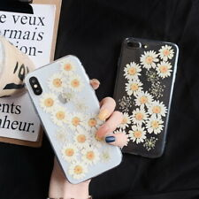 For Apple iPhone XS Max XR X 8 7 6s 6 Plus Cute Flower Soft Gel Back Case Cover