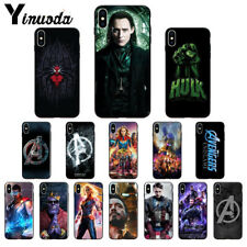 Marvel Avengers Endgame TPU Soft Silicone Phone Case for Apple iPhone 11 XS X 8