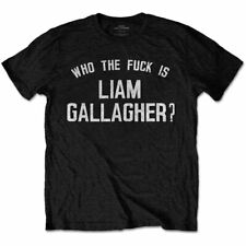LIAM GALLAGHER Who The Fk is Oasis Mens T Shirt Unisex Official Licensed Merch
