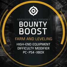 Bounty Boost Farm and Leveling High-End Equipment Boosting Service PC/PS4/XBOX