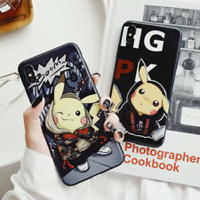 For iPhone 6-XS Max Cute Pikachu Antiskid Frosted Soft UNBreak Phone Case Cover
